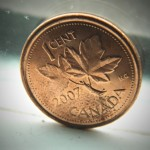 Canadian penny - Photo by: Andrew Moran