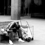 Homeless American citizen - Photo by:  C. G. P. Grey