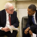 Warren Buffett meets with Pres. Obama