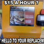 Fight for $15: Fast food worker can't defend $15 minimum wage, ignores automation efforts