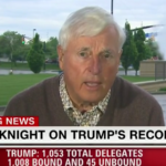 Video: Bobby Knight gets into tense conversation over Donald Trump with CNN host