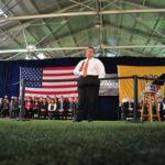 Applause: New Jersey Governor Chris Christie vetoes $15 minimum wage