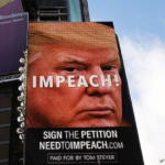 IMPEACH: Times Square billboard urges people to sign petition to 'Impeach Trump'