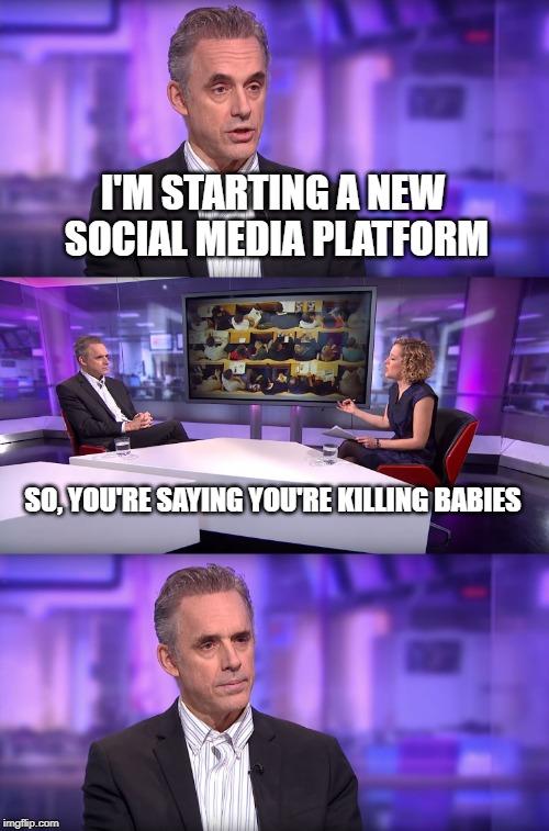 Jordan Peterson is starting his own social media platform ...